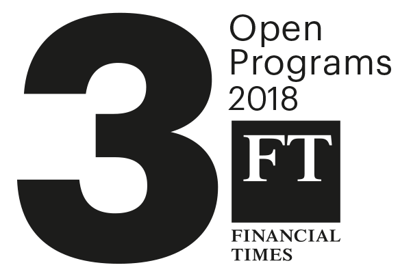 Open Programs 3rd in world, FT 2018
